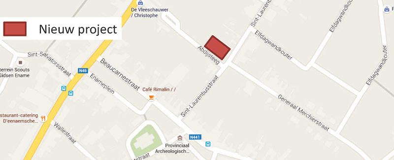 ligging-ename-abdijsteeg-map-long