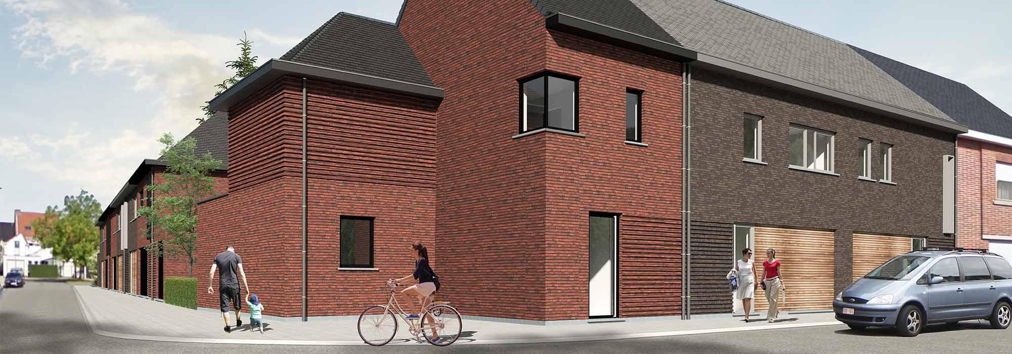 Project St. Laurentiusstraat – Abdijsteeg – Ename